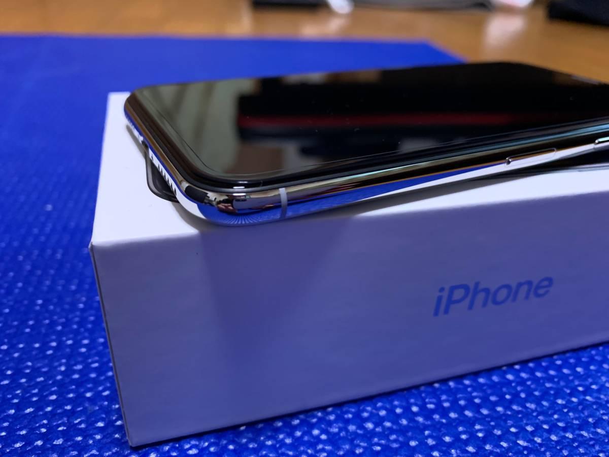Apple iPhone X Silver 64GB SIMフリー_画像5