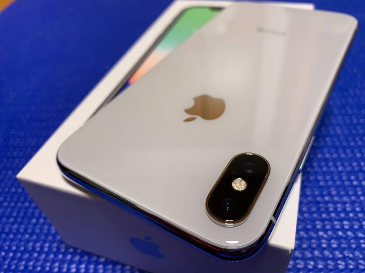 Apple iPhone X Silver 64GB SIMフリー_画像4