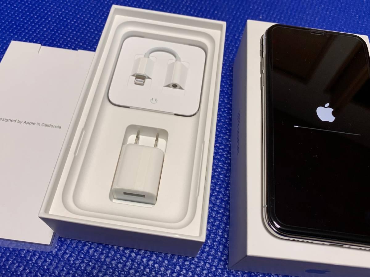 Apple iPhone X Silver 64GB SIMフリー_画像2