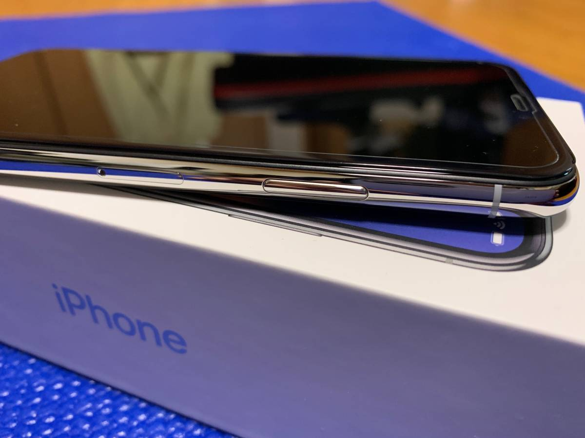Apple iPhone X Silver 64GB SIMフリー_画像6