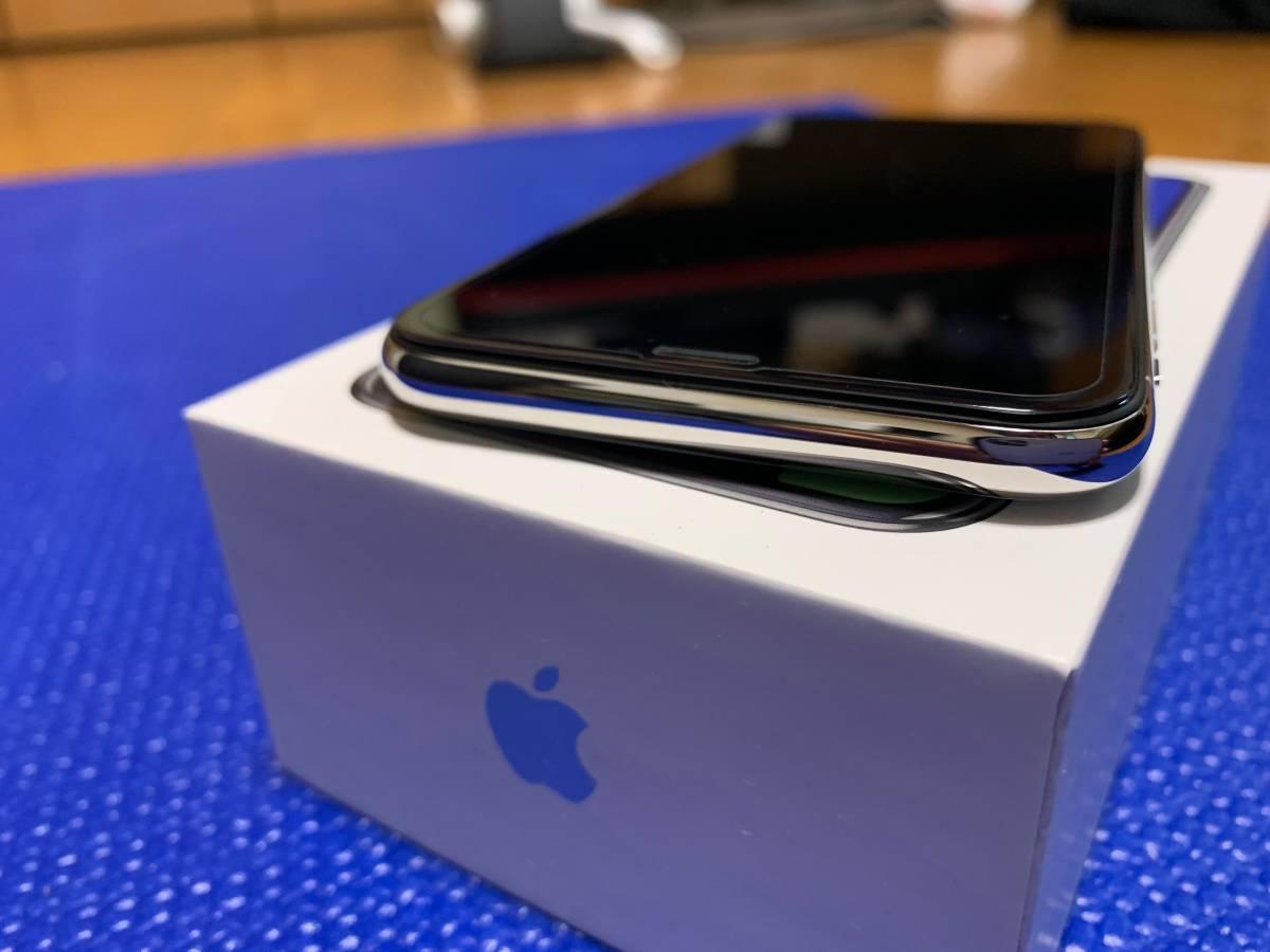 Apple iPhone X Silver 64GB SIMフリー_画像7