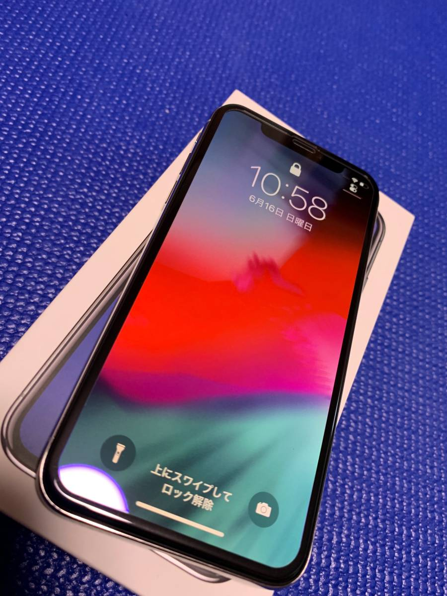 Apple iPhone X Silver 64GB SIMフリー