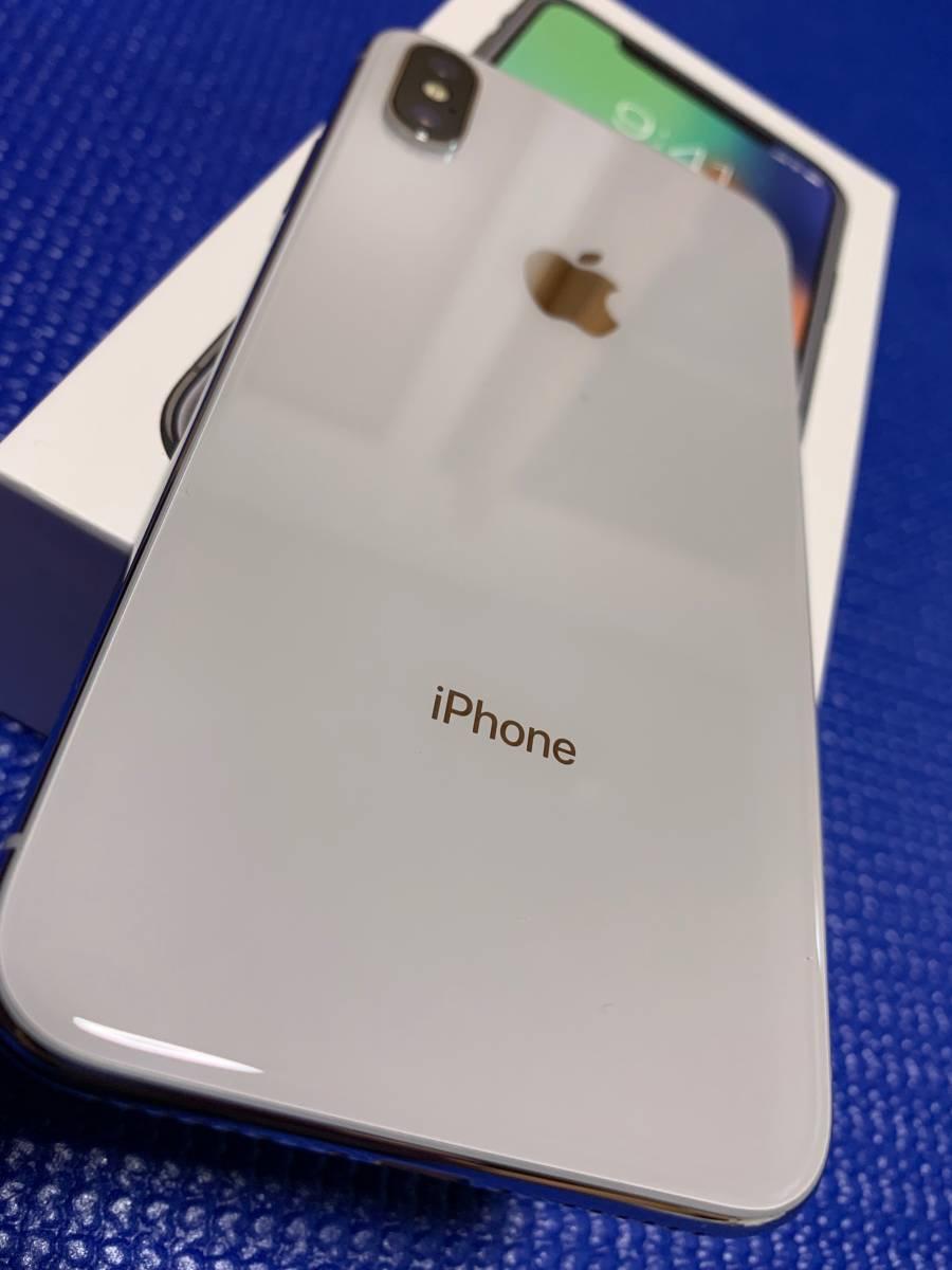 Apple iPhone X Silver 64GB SIMフリー_画像3