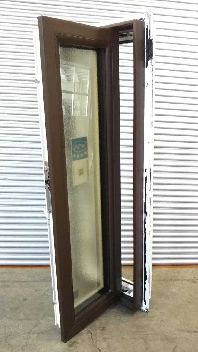 020 窓サッシ 引き取り限定 トリプルガラス たてすべり出し窓 03611R_画像2