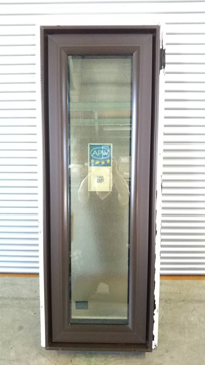 020 窓サッシ 引き取り限定 トリプルガラス たてすべり出し窓 03611R_画像3