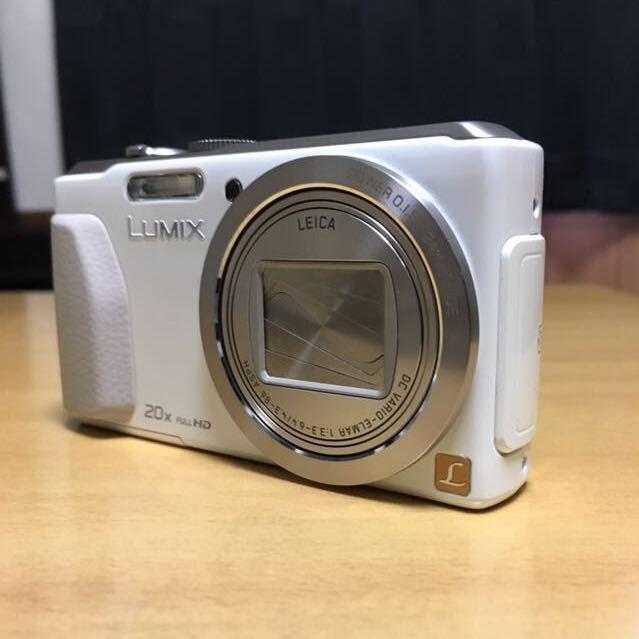 【美品】Panasonic TZ40 ホワイト パナソニック_画像3