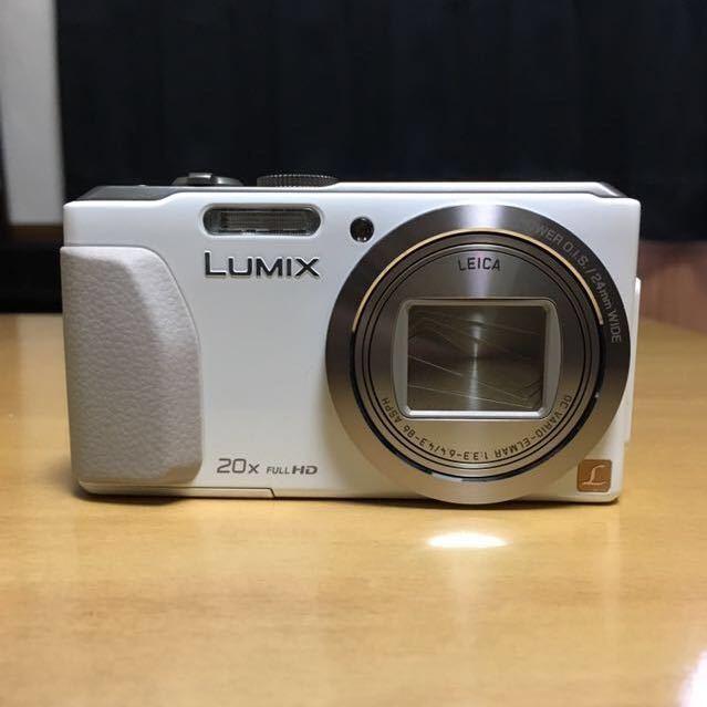 【美品】Panasonic TZ40 ホワイト パナソニック_画像2