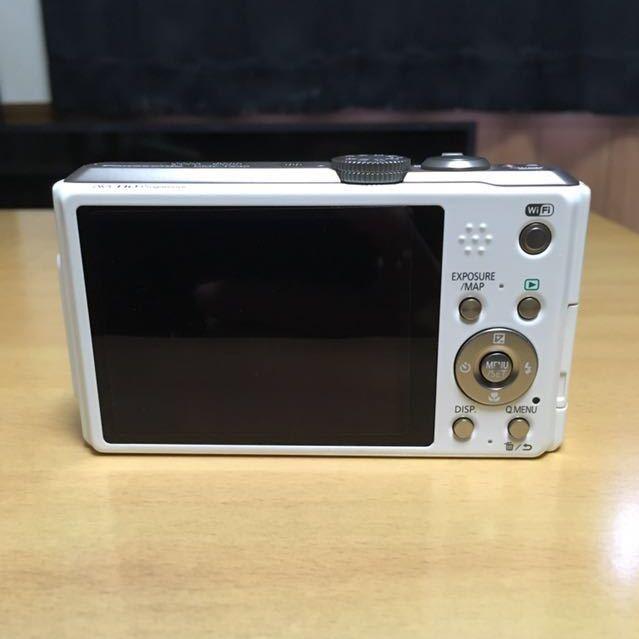 【美品】Panasonic TZ40 ホワイト パナソニック_画像5