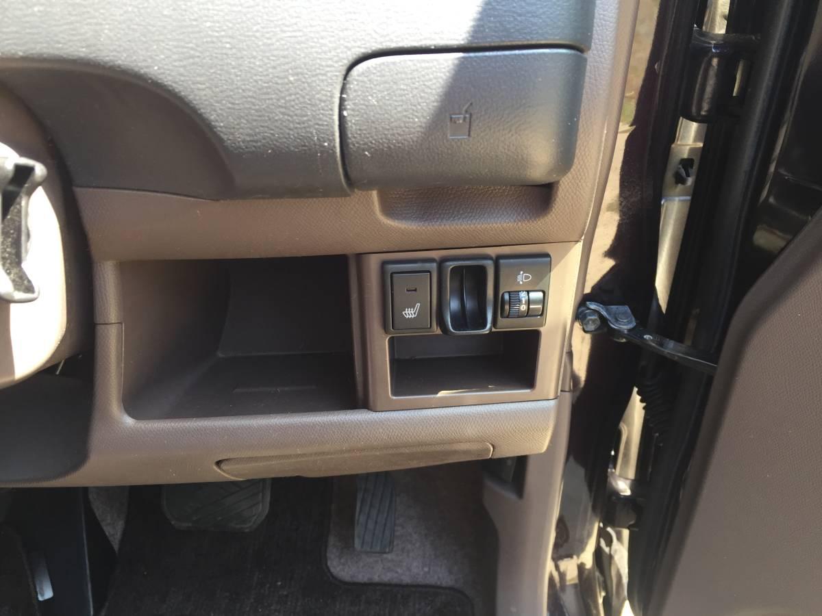 4WD 21年 人気の軽自動車 日産モコ E FOUR スマートキー 人気のブラウン 検査受け渡しで車検2年付き_画像9
