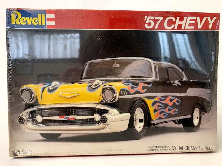 Revell 57 シボレー ベルエア 1/25 レベル*Rat Hot Rod インパラ ローライダー カスタム Kustom ホットロッド Mooneyes 50's ムーンアイズ_画像1