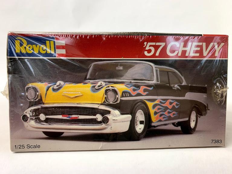 Revell 57 シボレー ベルエア 1/25 レベル*Rat Hot Rod インパラ ローライダー カスタム Kustom ホットロッド Mooneyes 50's ムーンアイズ_画像3