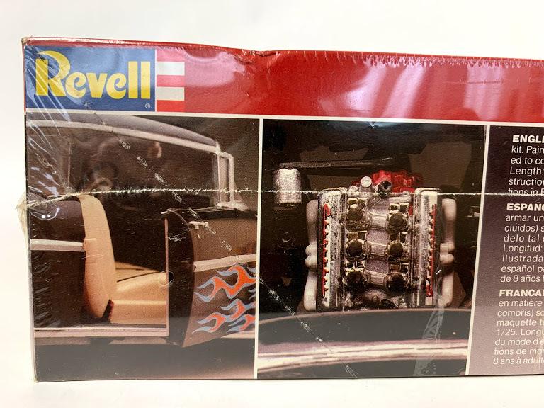 Revell 57 シボレー ベルエア 1/25 レベル*Rat Hot Rod インパラ ローライダー カスタム Kustom ホットロッド Mooneyes 50's ムーンアイズ_画像7