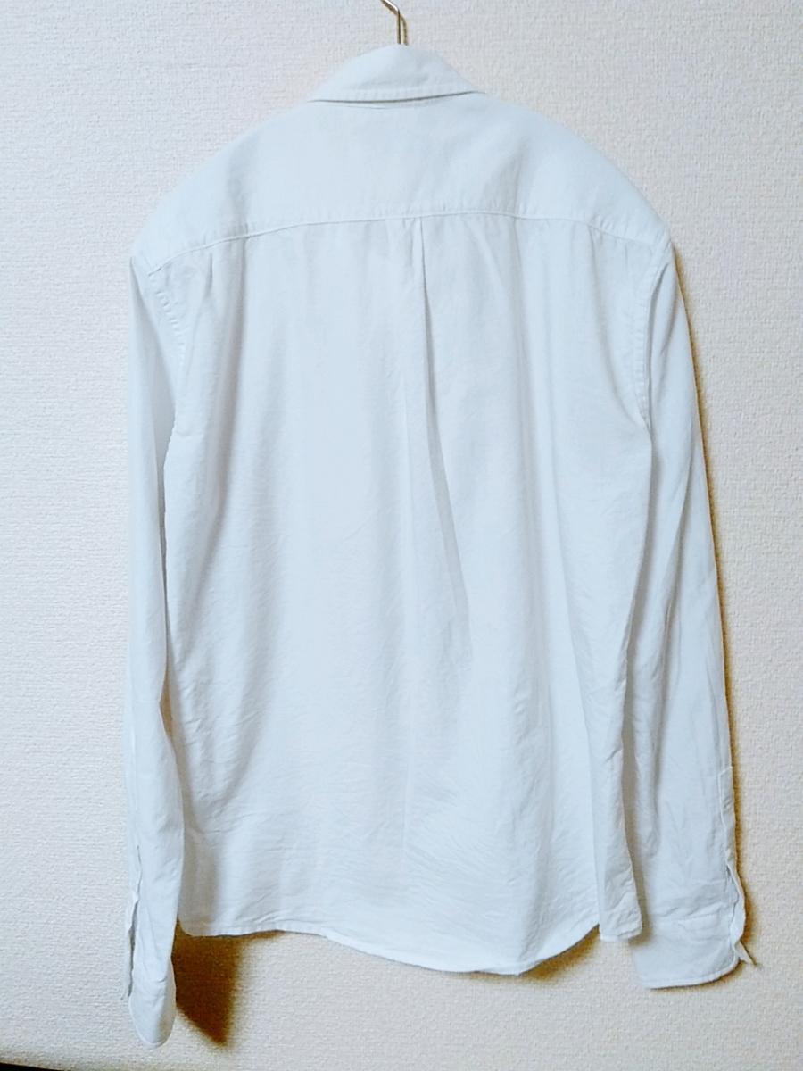 【新品未使用】ナノユニバース コットン白シャツ 定価14580円 studious ユナイテッドアローズ_画像3