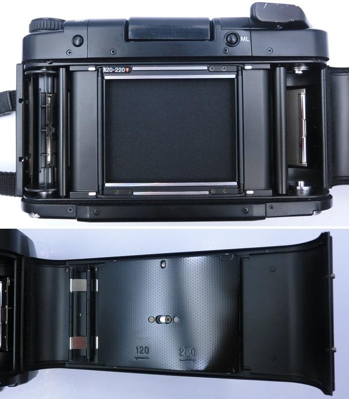 □ペンタックス/ PENTAX 67 II 中判カメラ Super-Multi-Coated Takumar6X7レンズ付 現状品♪_画像7