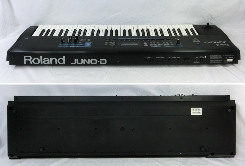 □ Roland JUNO-D ローランド 61鍵盤 シンセサイザー キーボード アダプター/専用ケース付き♪_画像8
