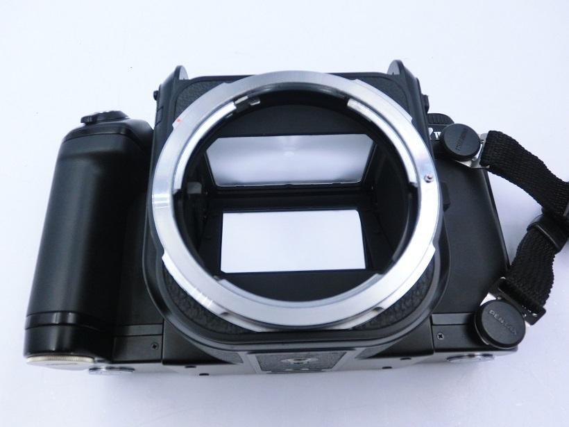 □ペンタックス/ PENTAX 67 II 中判カメラ Super-Multi-Coated Takumar6X7レンズ付 現状品♪_画像3