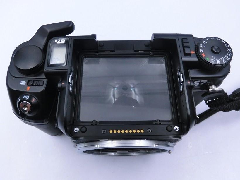□ペンタックス/ PENTAX 67 II 中判カメラ Super-Multi-Coated Takumar6X7レンズ付 現状品♪_画像2