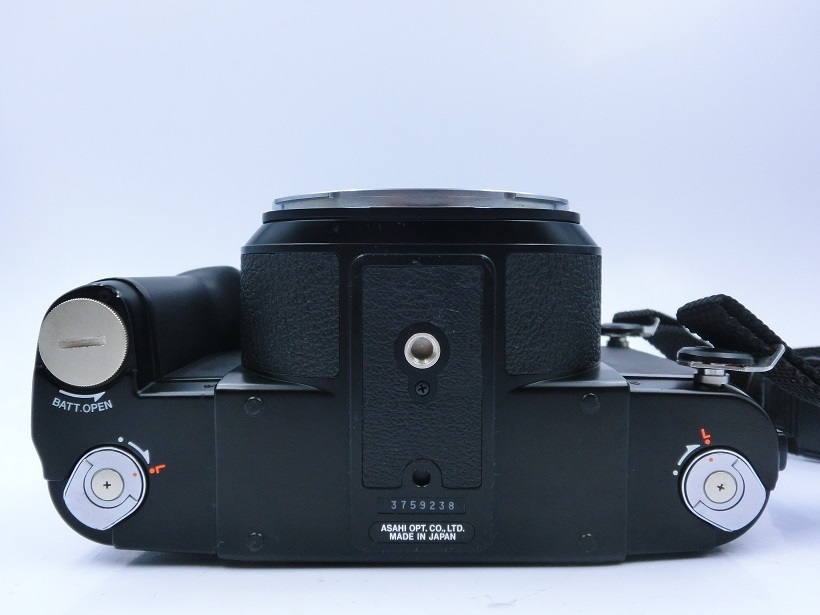□ペンタックス/ PENTAX 67 II 中判カメラ Super-Multi-Coated Takumar6X7レンズ付 現状品♪_画像6