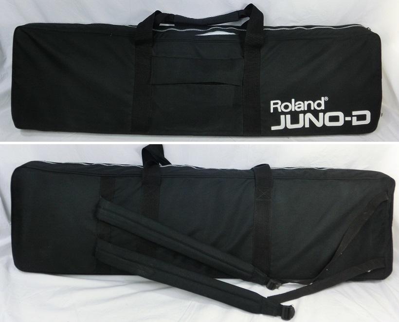 □ Roland JUNO-D ローランド 61鍵盤 シンセサイザー キーボード アダプター/専用ケース付き♪_画像10