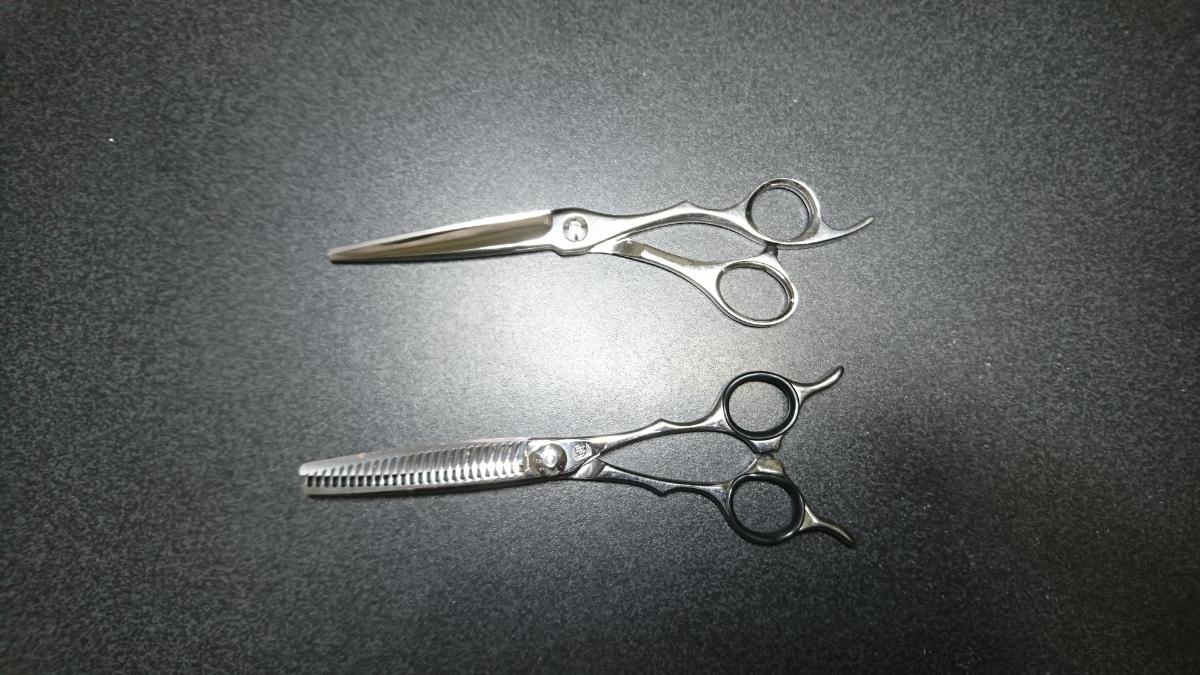 scissors Japan NARUTO シザー 美容 ハサミ セニング コーム くし シザーケース付き 右利き シザーズジャパン ナルト 高額_画像6