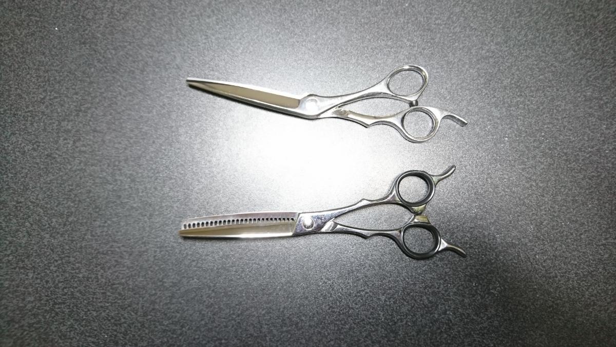 scissors Japan NARUTO シザー 美容 ハサミ セニング コーム くし シザーケース付き 右利き シザーズジャパン ナルト 高額