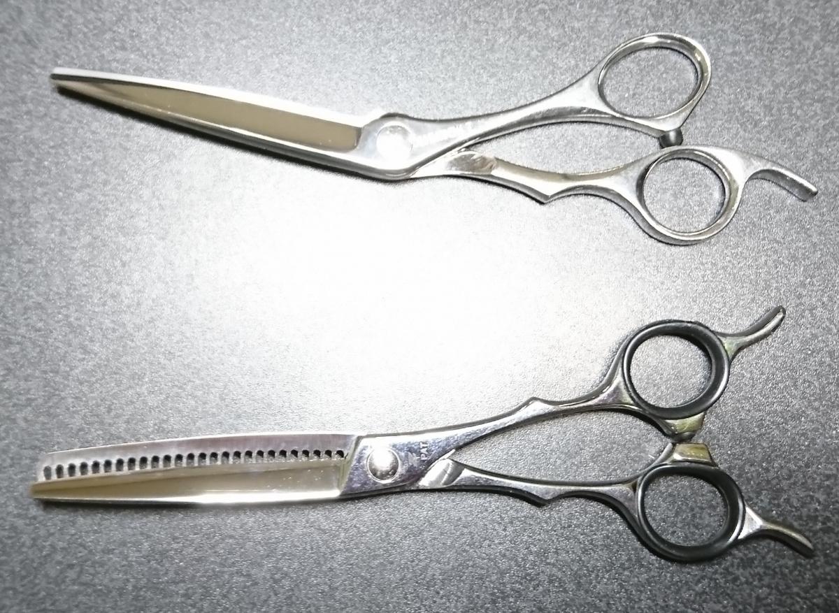 scissors Japan NARUTO シザー 美容 ハサミ セニング コーム くし シザーケース付き 右利き シザーズジャパン ナルト 高額_画像2