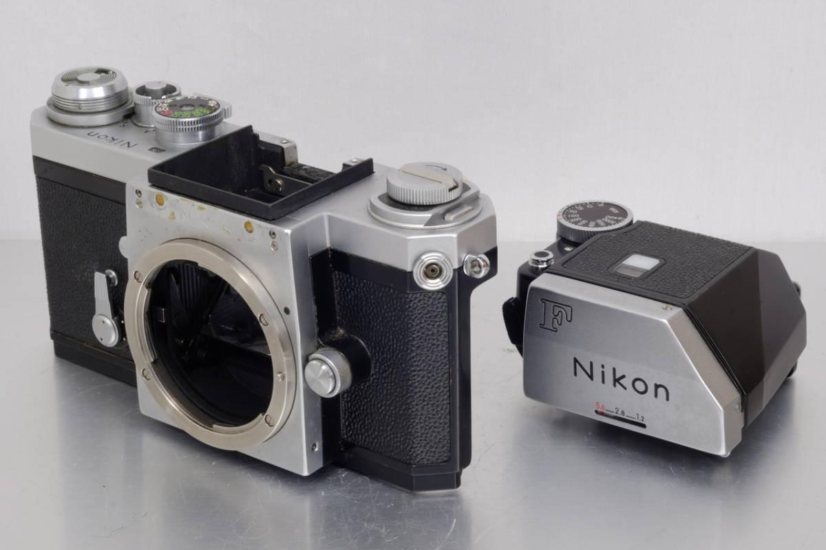 Nikon ニコン Nikkor F シルバー Ftn ファインダー 現状 ジャンク 中古品 ( アイレベル 日本 光学 フォトミック DA-1 DP-1 SB AS Ftn