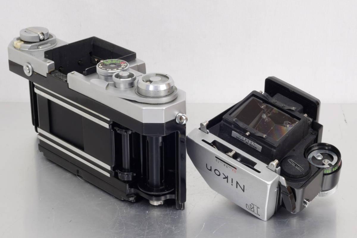 Nikon ニコン Nikkor F シルバー Ftn ファインダー 現状 ジャンク 中古品 ( アイレベル 日本 光学 フォトミック DA-1 DP-1 SB AS Ftn_画像2