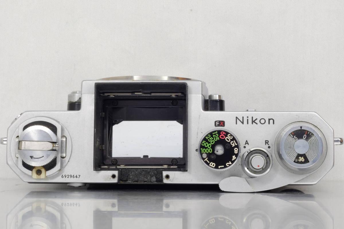 Nikon ニコン Nikkor F シルバー Ftn ファインダー 現状 ジャンク 中古品 ( アイレベル 日本 光学 フォトミック DA-1 DP-1 SB AS Ftn_画像5