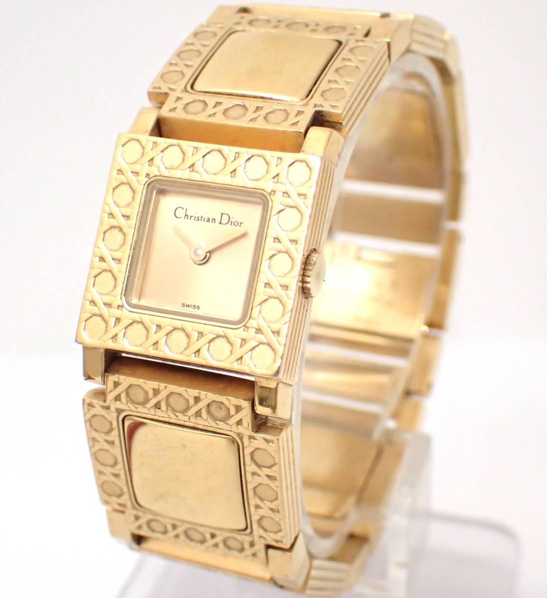 Christian Dior/ディオール/D60-150/ラ・パリジェンヌ/レディース腕時計/ジャンク[T]
