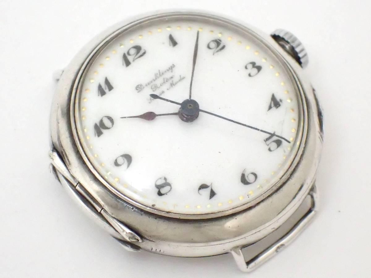 *希少・レア!!*Dunklings×ROLEX/ロレックス/W&D/Wネーム/スイス製/手巻き/925/銀製/腕時計/アンティーク/ジャンク[T]_画像3