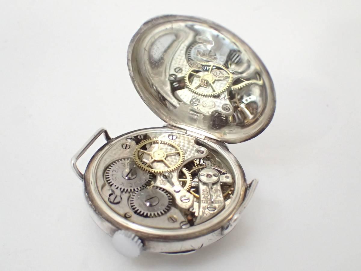 *希少・レア!!*Dunklings×ROLEX/ロレックス/W&D/Wネーム/スイス製/手巻き/925/銀製/腕時計/アンティーク/ジャンク[T]_画像8