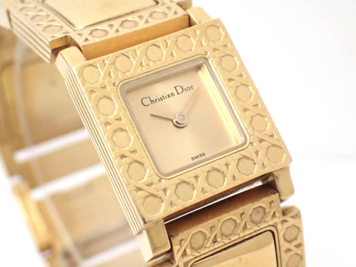 Christian Dior/ディオール/D60-150/ラ・パリジェンヌ/レディース腕時計/ジャンク[T]_画像3