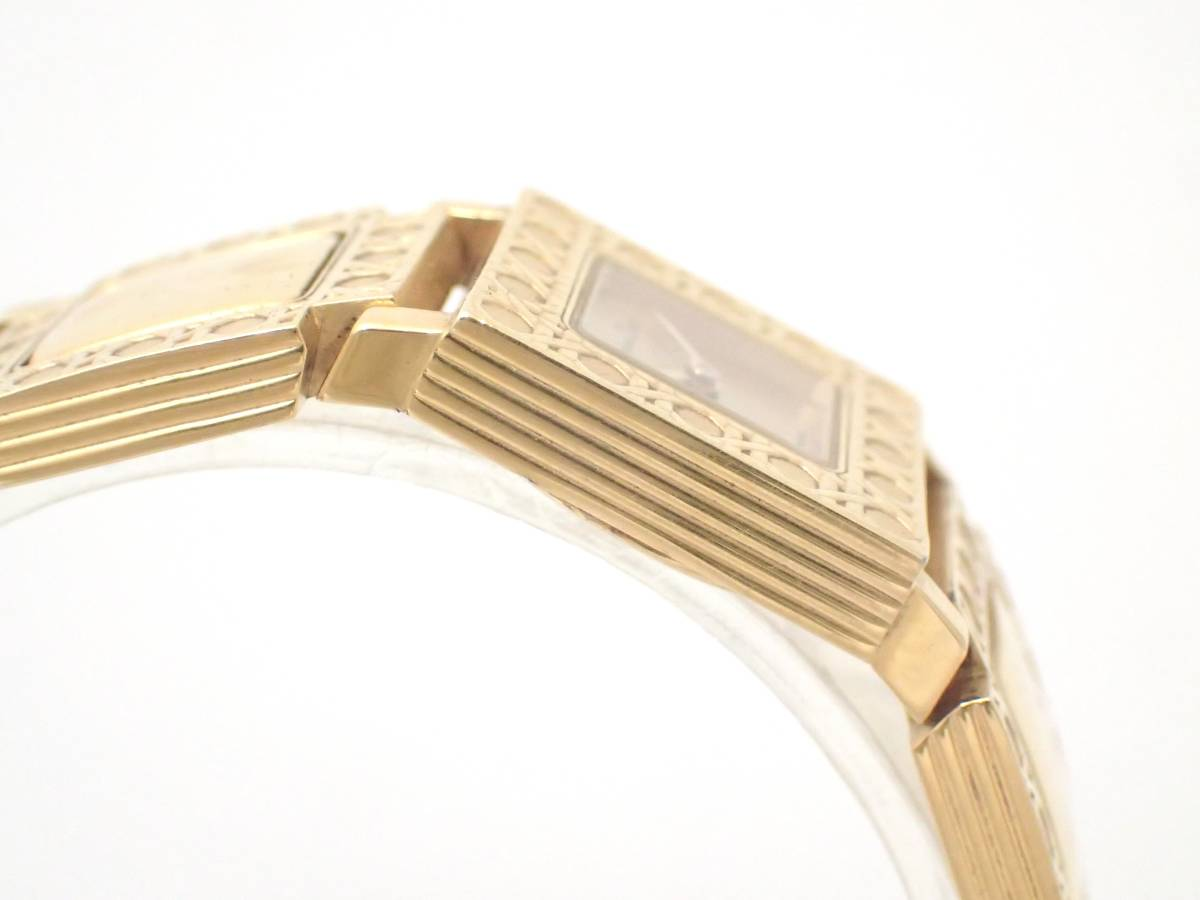Christian Dior/ディオール/D60-150/ラ・パリジェンヌ/レディース腕時計/ジャンク[T]_画像5