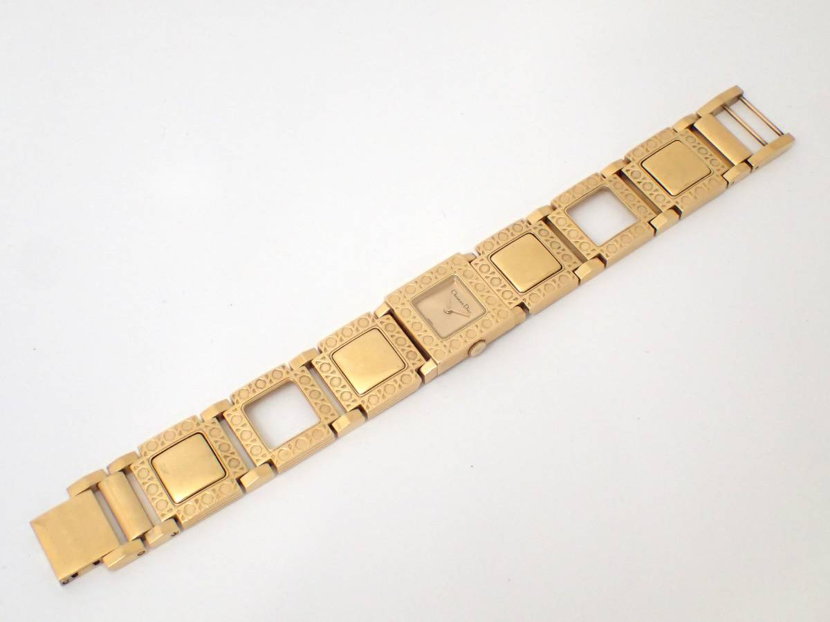 Christian Dior/ディオール/D60-150/ラ・パリジェンヌ/レディース腕時計/ジャンク[T]_画像7
