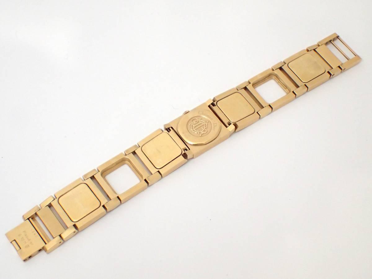 Christian Dior/ディオール/D60-150/ラ・パリジェンヌ/レディース腕時計/ジャンク[T]_画像8