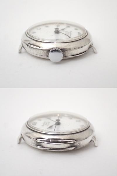 *希少・レア!!*Dunklings×ROLEX/ロレックス/W&D/Wネーム/スイス製/手巻き/925/銀製/腕時計/アンティーク/ジャンク[T]_画像5