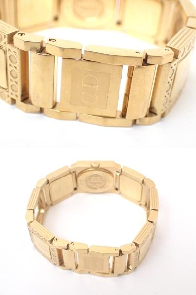 Christian Dior/ディオール/D60-150/ラ・パリジェンヌ/レディース腕時計/ジャンク[T]_画像9