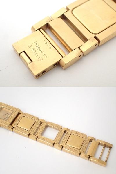 Christian Dior/ディオール/D60-150/ラ・パリジェンヌ/レディース腕時計/ジャンク[T]_画像10