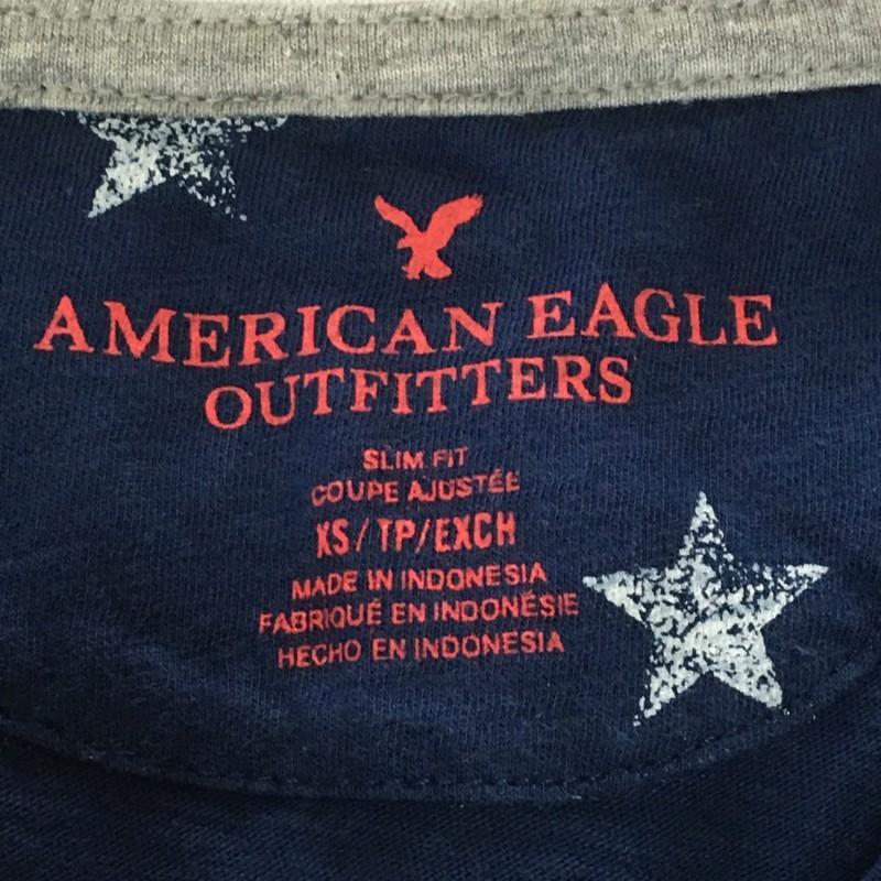 《郵送無料》■Ijinko★アメリカンイーグル American Eagle Outfitters★ XS/TP サイズ半袖ポロシャツ
