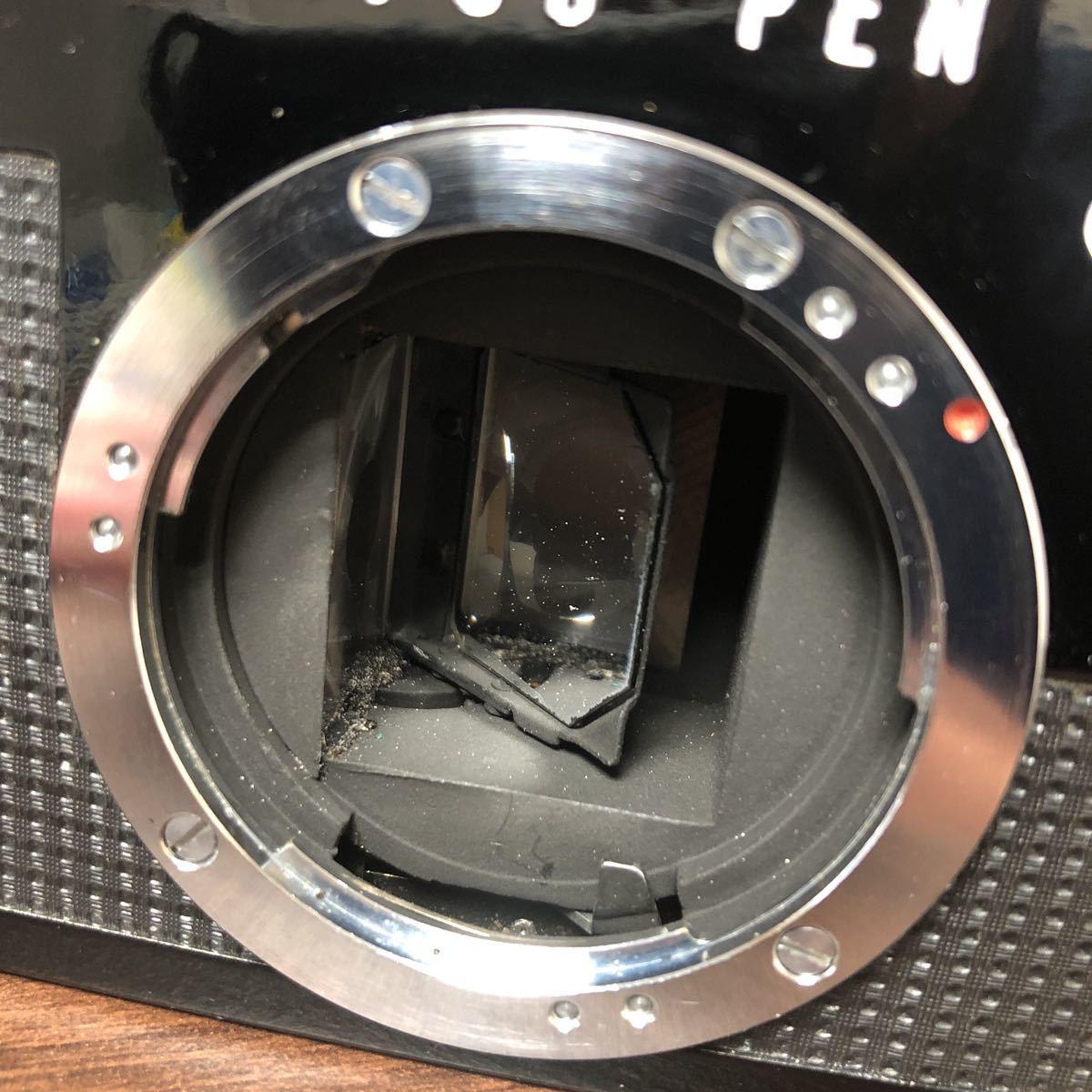OLYMPUS PEN-F 黒 本体_画像9