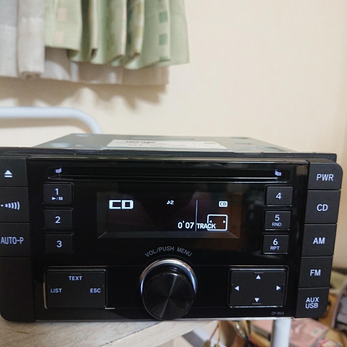 売り切り♪♪♪トヨタ純正 Pioneer CDプレーヤー CP-W64 DEH-8138zt 08600-00M10 USB.AUX♪♪