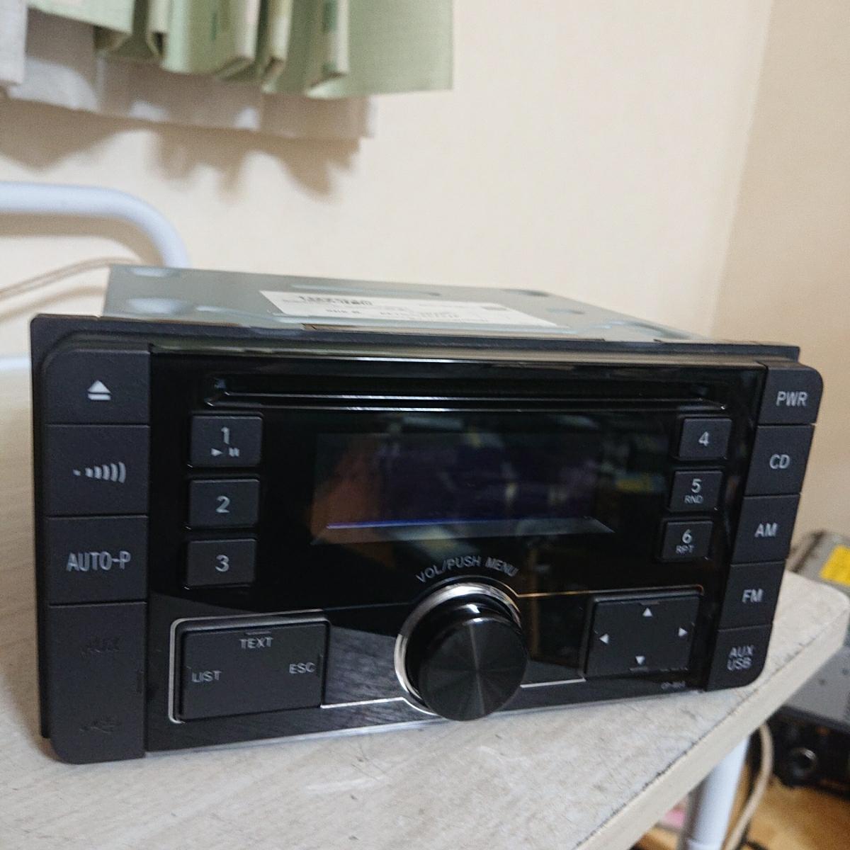 売り切り♪♪♪トヨタ純正 Pioneer CDプレーヤー CP-W64 DEH-8138zt 08600-00M10 USB.AUX♪♪_画像10