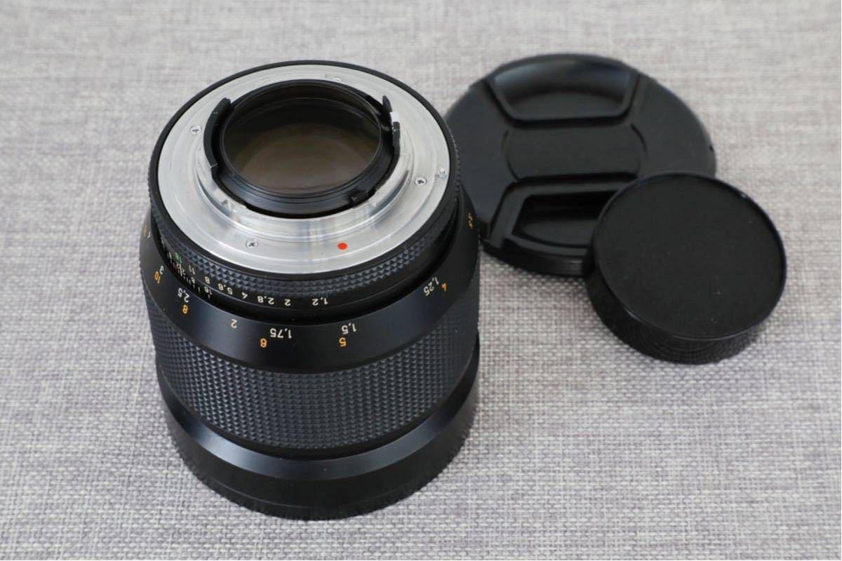 【限定1000本】 CONTAX コンタックス Planar プラナー 85mm F1.2 MMG 60 Years_画像3