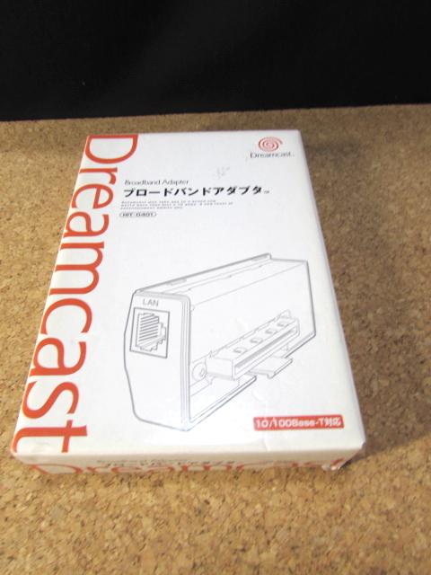未使用品 ドリームキャスト ブロードバンドアダプタ HIT-0400