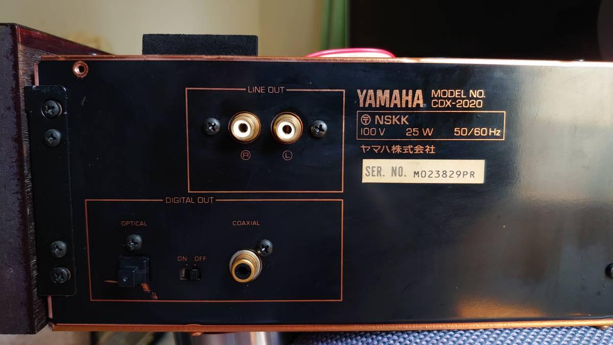 【ジャンク品】ヤマハ CDX-2020_画像9