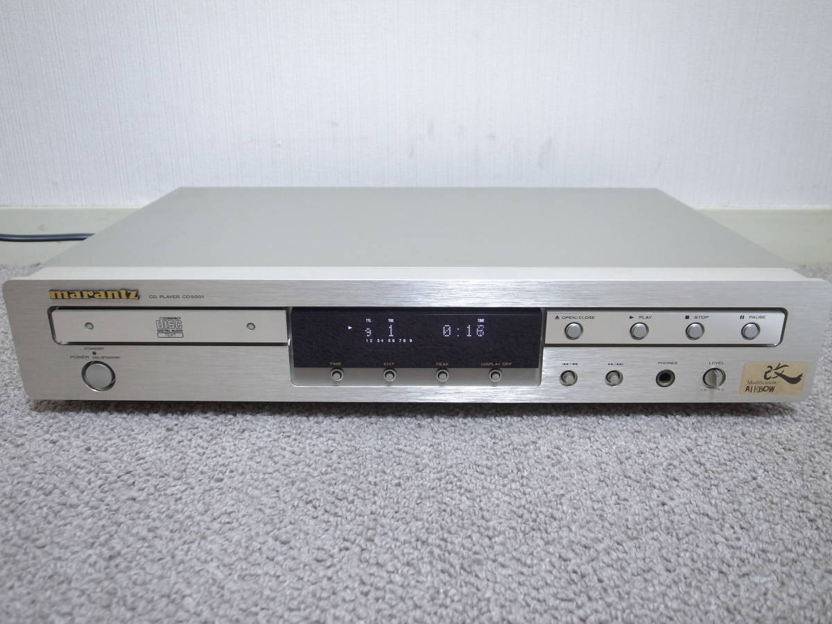 【逸品館チューンモデル】AIRBOW marantz CD5001/KAI 良品 最高音質で音楽を!_画像3
