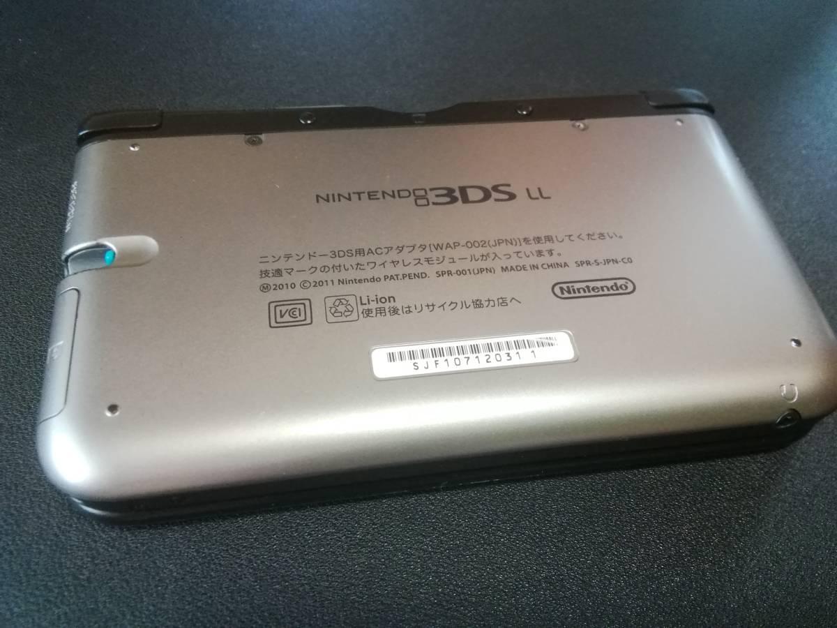 任天堂3DSLL本体ゲーム(MH4、ダンボール戦機など)&勉強ソフト_画像2