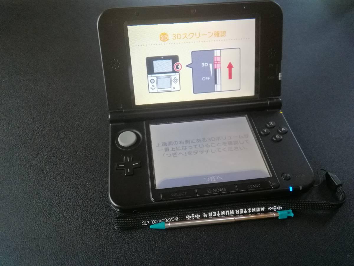 任天堂3DSLL本体ゲーム(MH4、ダンボール戦機など)&勉強ソフト_画像3