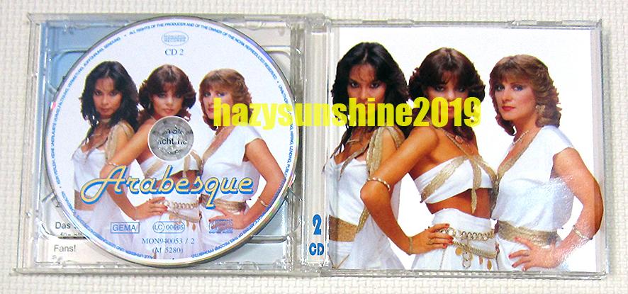 アラベスク THE BEST OF ARABESQUE VOL.1 2枚組 CD ディスコ DISCO ハロー・ミスター・モンキー_画像4